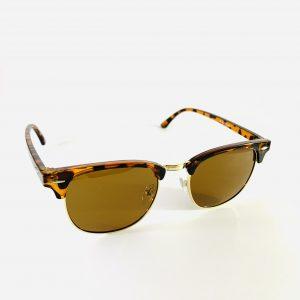 Brunspräckliga solglasögon med brunt glas