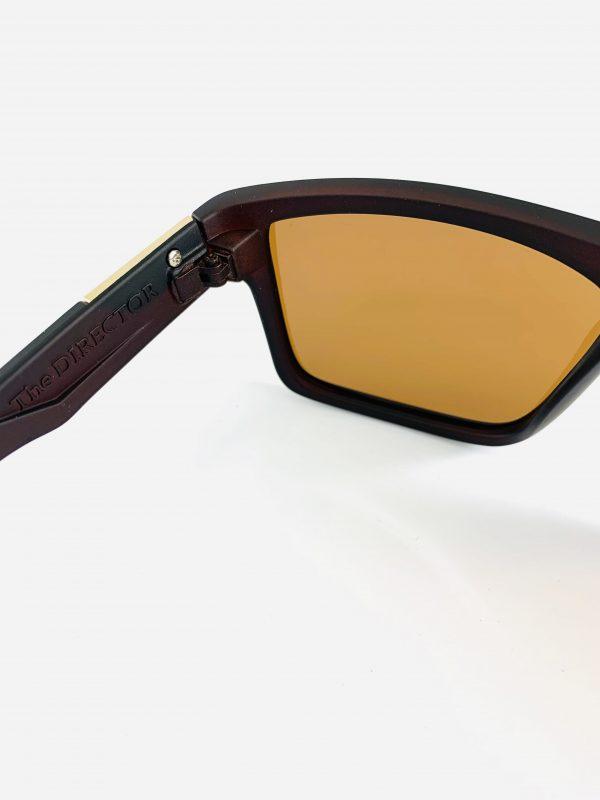 The Director solglasögon med brunt glas