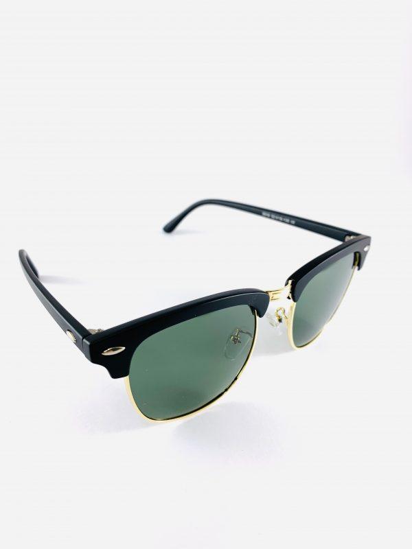 Stilrena solglasögon med inslag av guld