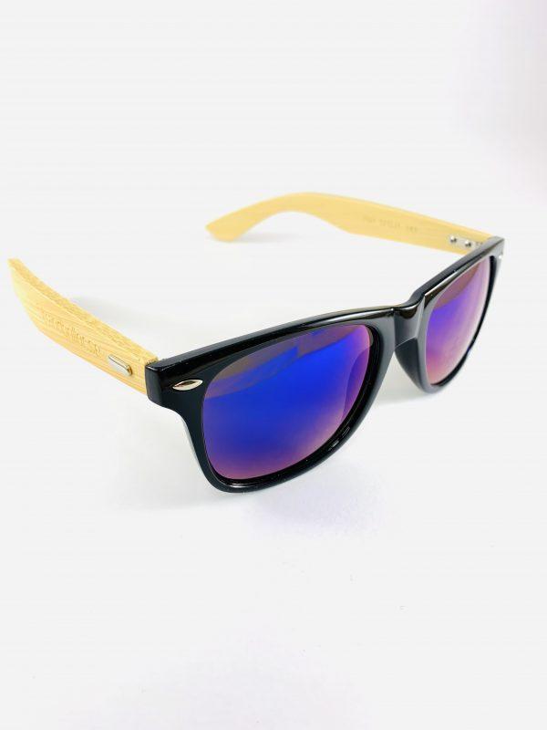Strandbrillor Woodie-Black Blue