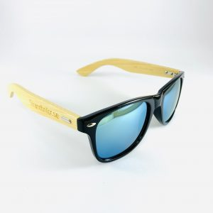 Strandbrillor Woodie-Sky