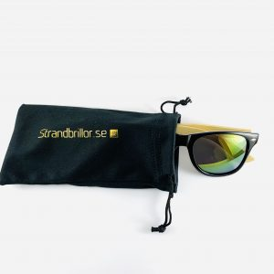 Strandbrillor Woodie-Green