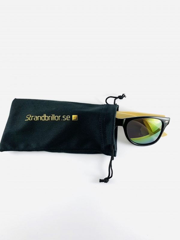Strandbrillor Woodie-Green