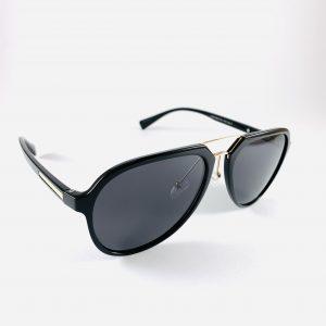 Solglasögon med stiliga pilotbågar