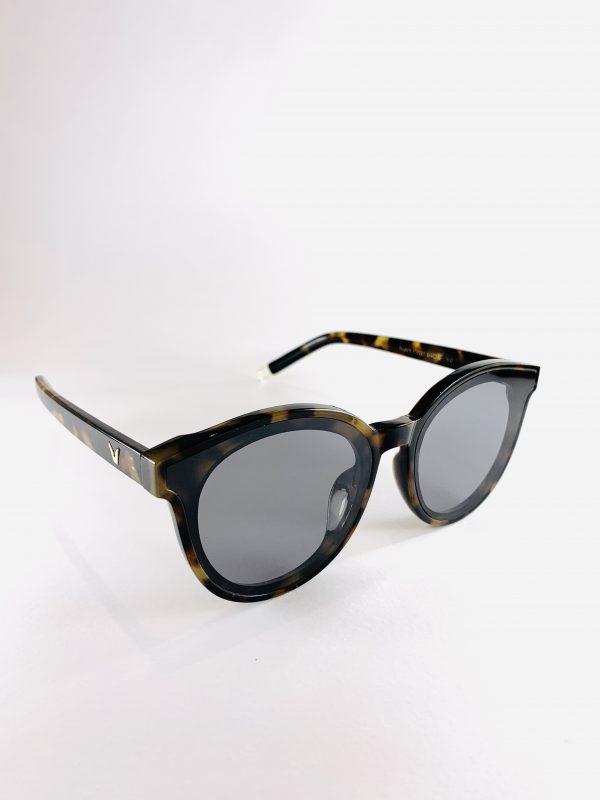 Elly - solglasögon med leopardmönster